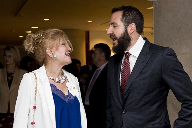 Borja Thyssen y Tita Cervera