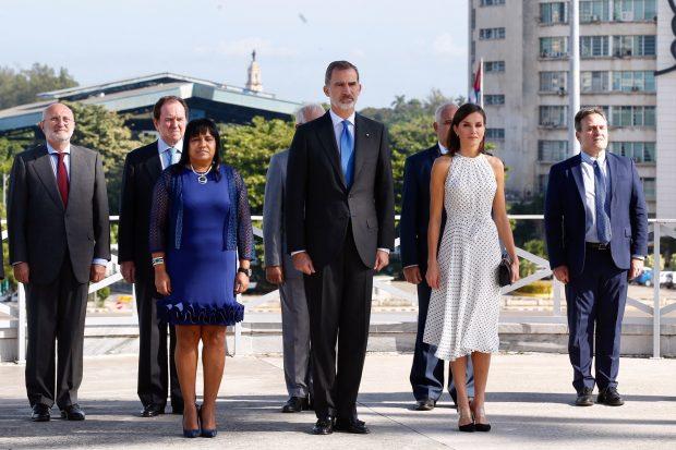Un guiño a Leonor y un look 'a la española': así ha sido el debut de Letizia en La Habana
