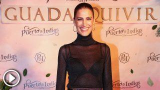 Laura Sánchez en la presentación de la nueva ginebra 'Guadalquivir' / Gtres
