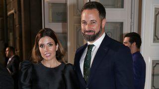Lidia Bedman y Santiago Abascal en los Premios Princesa de Asturias / Gtres