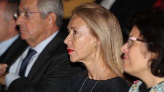 Mar García Vaquero en la presentación de 'Jóvenes, Internet y democracia' / Gtres
