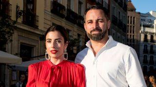 Lidia Bedman junto a su marido, Santiago Abascal / Gtres