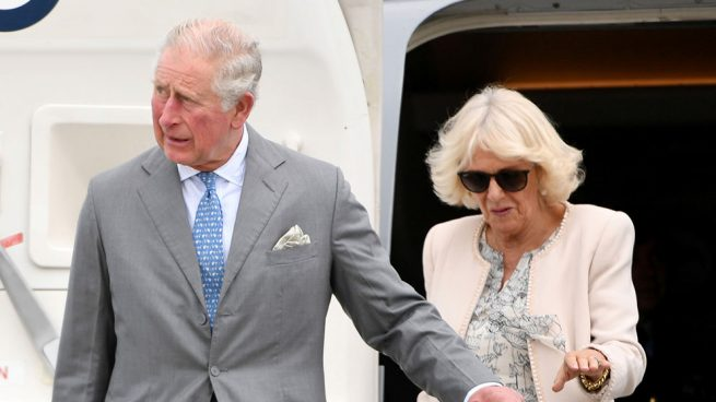 El príncipe Carlos y Camilla Parker