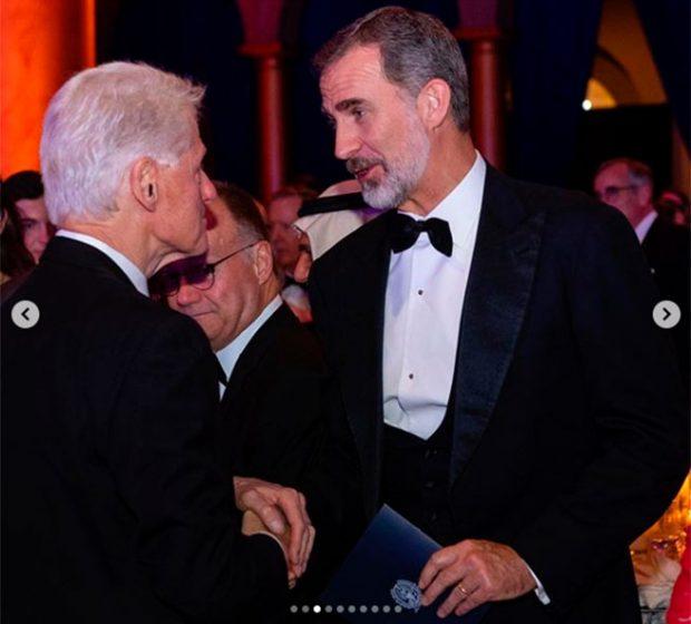 rey Felipe, Bill Clinton
