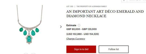 Imagen de la web oficial de la Casa Christie's