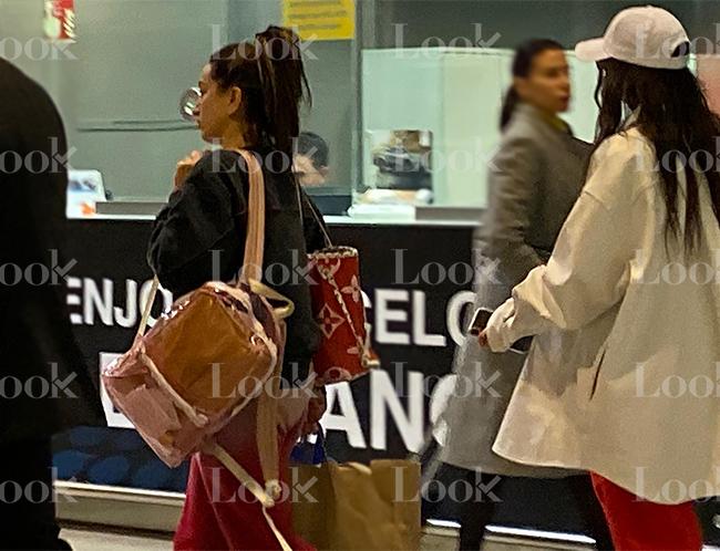 Rosalía en el aeropuerto de Barcelona / LOOK