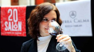 salon vinos madrid 2019 isabel diaz ayuso
