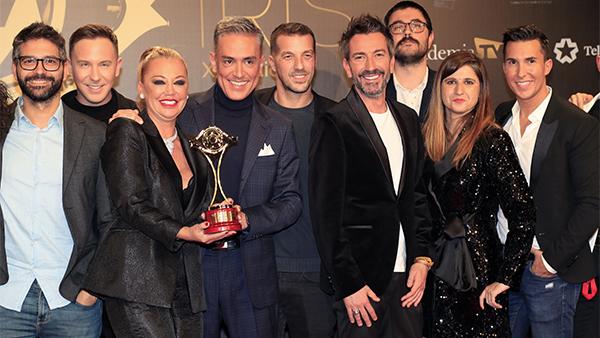 Belén Esteban se pone reivindicativa en su discurso en los premios Iris