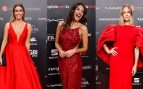 rojo people in red gala