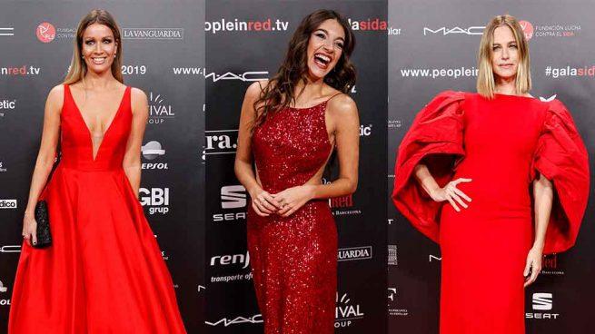 rojo people in red gala