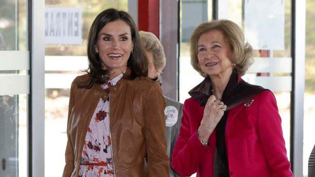 Doña Letizia y doña Sofia