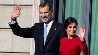 Don Felipe y doña Letizia en una imagen de archivo / Gtres