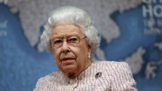 La reina Isabel en su último acto / Gtres