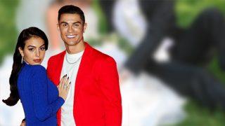 Cristiano Ronaldo y Georgina en un fotomontaje de Look / Gtres