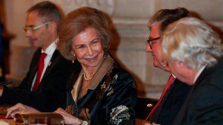 Doña Sofía en la entrega del 'Premio Reina Sofía de Poesía Iberoamericana' / Gtres