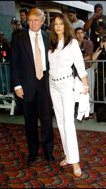 Donald Trump y Melania