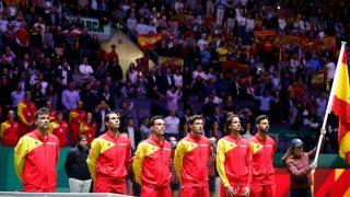 El equipo de España en la final de la Copa Davis / Gtres