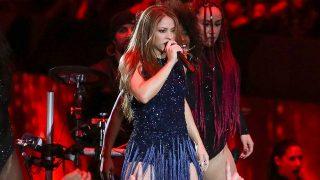 Shakira fue la encargada de actuar en la gala de clausura de la Copa Davis / Gtres