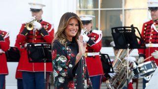 Melania Trump a las afueras de la Casa Blanca / Gtres