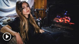 Ana Mena en el set del videoclip 'Como el agua' / Gtres