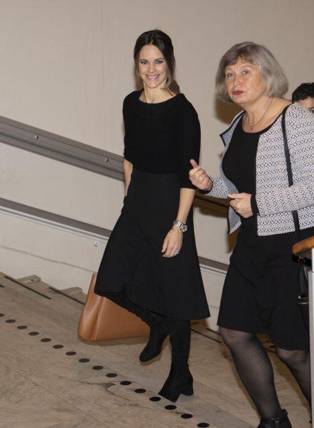 De la infanta Sofía a la reina Letizia: el look que confirma que Sofía de Suecia mira a España