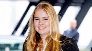Amalia de Holanda en un evento deportivo en Amsterdam / Gtres