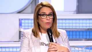Toñi Moreno durante su discusión con Kiko Jiménez / Telecinco
