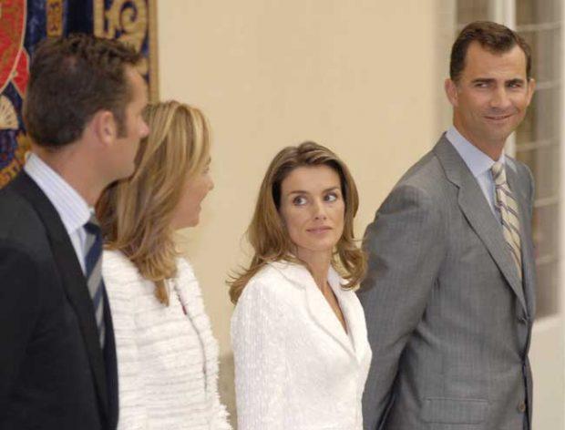 reina Letizia, rey felipe, infanta Cristina, Iñaki Urdangarin