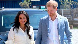 Meghan Markle y el príncipe Harry en Sudáfrica / Gtres