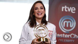 Tamara Falcó tras su triunfo en 'MasterChef Celebrity' / Gtres