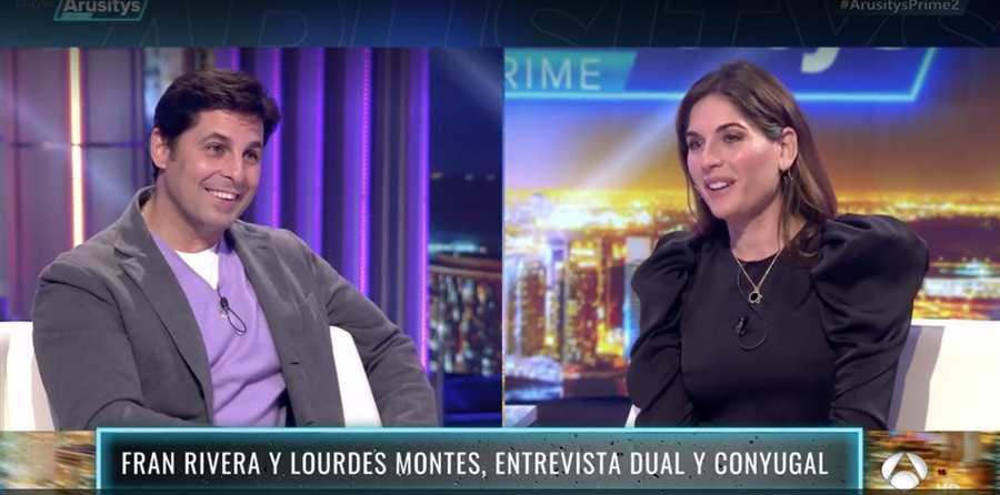Francisco Rivera y Lourdes Montes en 'Arusitys Prime' / Antena 3
