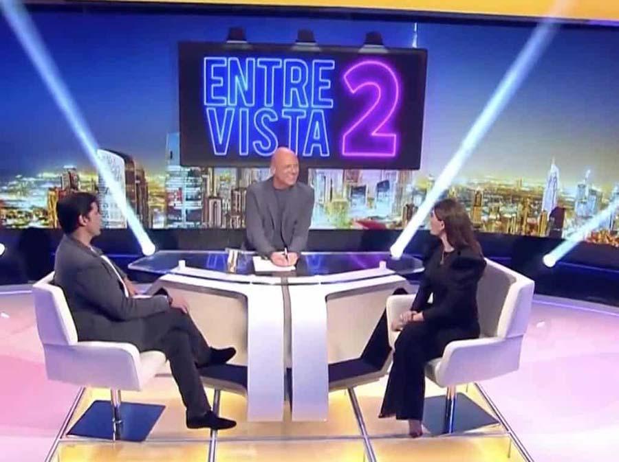 Lourdes Montes debuta en un plató de televisión entrevistada por Francisco Rivera