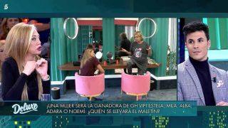 Belén Esteban ha puesto a Kiko Jiménez en un aprieto en su última discusión en 'Sábado Deluxe' / Telecinco