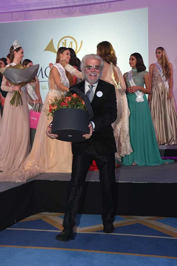 Edmundo Arrocet durante la elección de 'Linda de España' en Marbella / GTRES