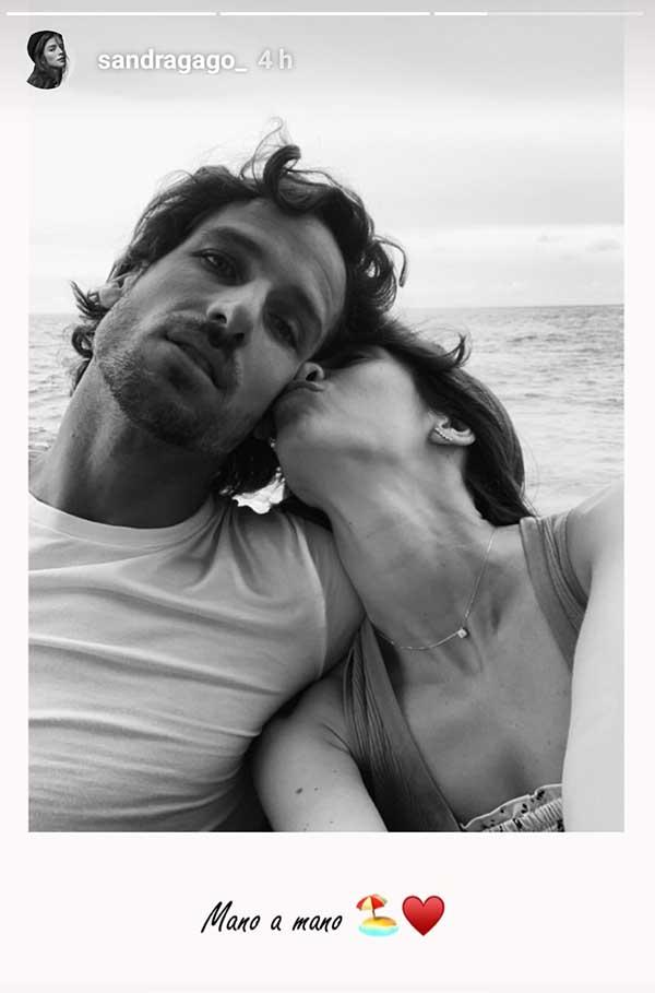 Felciano López y Sandra Gago ya están de luna de miel/ Instagram