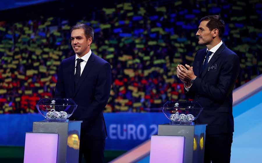 Iker Casillas ha participado en el sorteo de la UEFA celebrado en Bucarest este fin de semana / GTRES