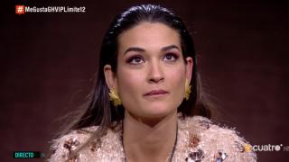 Estela Grande, muy confundida después de ver a Sofía Suescún./Mediaset