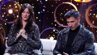 Helena y Gianmarco este domingo en el plató de GH VIP / Gtres