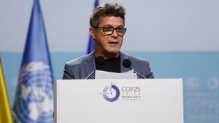 Alejandro Sanz durante su paso por la cumbre del clima / Gtres