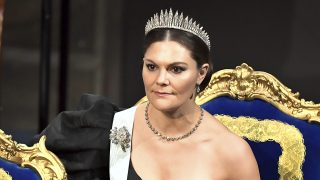 Victoria de Suecia durante la entrega de los Nobel / Gtres