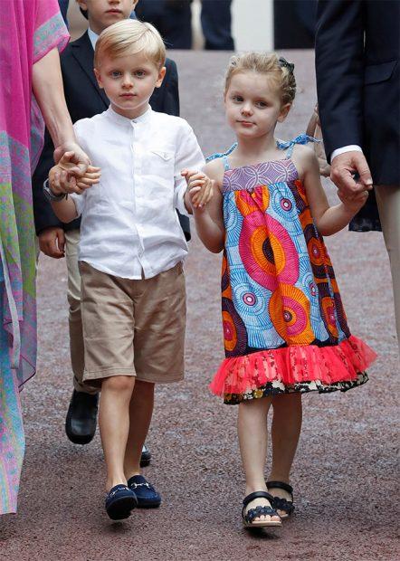 Jacques y Gabriella de Mónaco