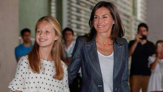 La princesa de Asturias junto a su madre, la reina Letizia / Gtres