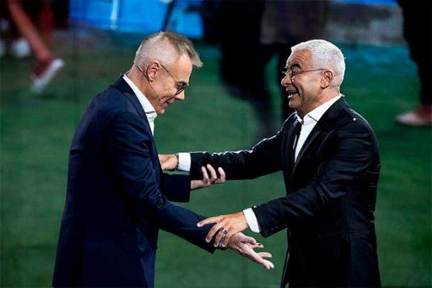 Jordi González y Jorge Javier Vázquez