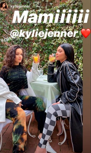 Alto voltaje: Rosalía y Kylie Jenner, dos divas mano a mano