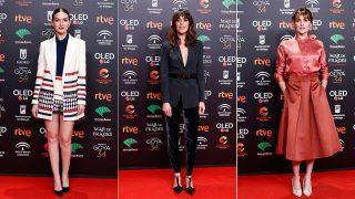 María Valverde, Belén Cuesta y Marta Nieto en la fiesta de los nominados de los Premios Goya / Gtres