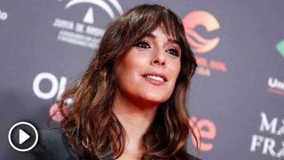 La actriz Belén Cuesta durante la fiesta de nominados a los Premios Goya 2020 (Foto: Gtres)