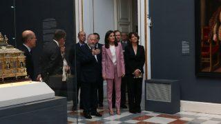 La reina Letizia durante su último acto oficial este martes (Foto: Gtres)