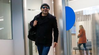 Jorge Javier Vázquez saliendo del hospital / Gtres
