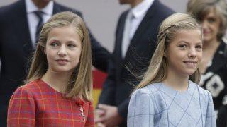 La princesa Leonor y la infanta Sofía en una imagen de archivo / Gtres
