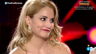 Alba Carrillo aun no ha visto a Santi Burgoa./Mediaset